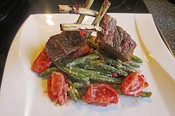 Warmer Sommersalat mit Feta