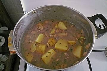 Kartoffel-Pilz-Topf