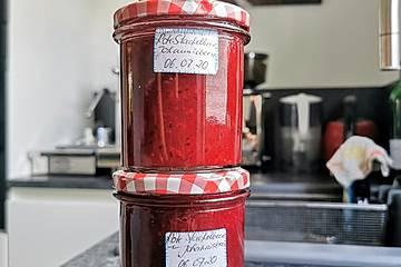 Stachelbeer-Johannisbeer Marmelade