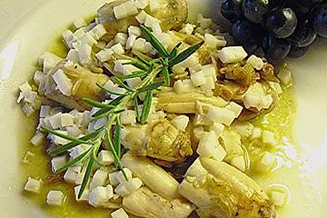 Töginger Schopftintling mit Sonnenblumenkernen und Parmesan