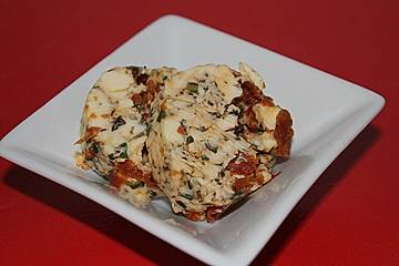 Mediterrane Tomaten-Rucola Butter