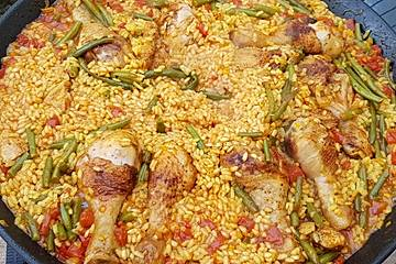 Huhn-Chorizo Paella