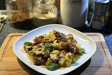 Rezept hahnchen zucchini kartoffeln