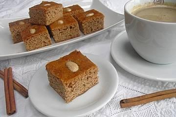Einfacher weicher Pfefferkuchen / Honigkuchen