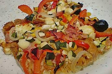 My big fat greek Pizza