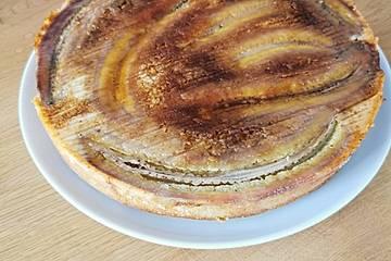 Saftiger Bananenkuchen mit Sirup