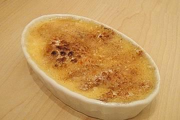 Apfel Crème brûlée