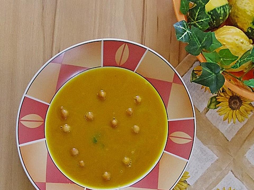Hokkaido-Kürbis Suppe