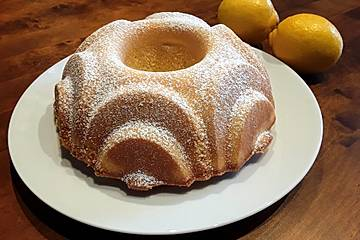 Zitronen-Sandkuchen