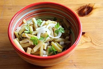Wachsbrechbohnen-Salat