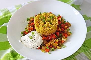 Gemüse-Restepfanne
