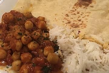 Kichererbsen-Curry Chana Masala