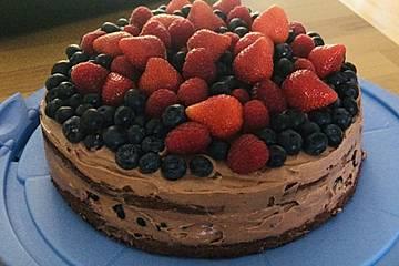 Erdbeer-Schokoladen Torte