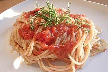 Tomatenspaghetti
