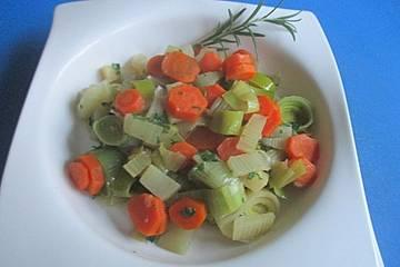 Karotten-Lauchgemüse
