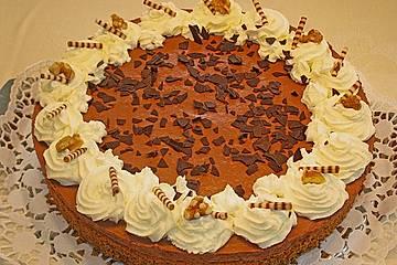 Walnuss-Schokoladen-Torte