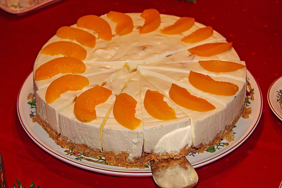Pfirsich Quark Torte Ohne Backen Rezepte Chefkoch De