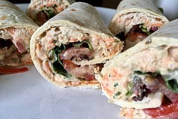 Thunfisch Wraps