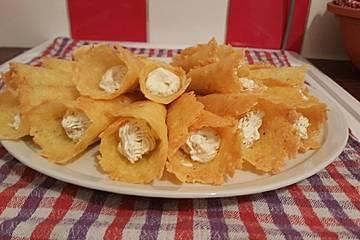 Low Carb Parmesan-Gouda-Chips