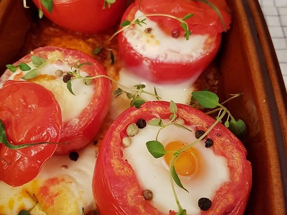 Eier im Tomatenhaus von Juulee   Chefkoch