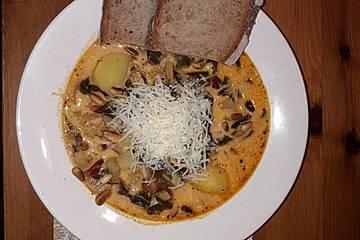 Italienische Mangoldsuppe