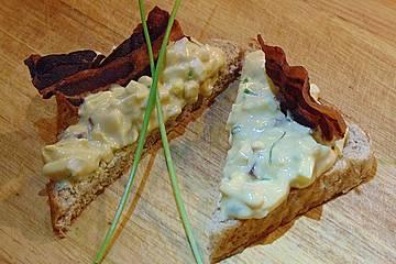 Eiersalat mit Bacon