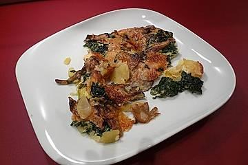 Austernpilz - Kartoffelgratin