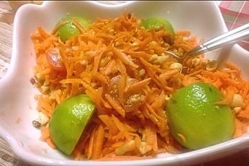 Asiatischer Karottensalat