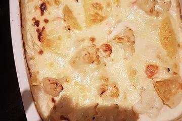 Dannys Blumenkohl-Kartoffelgratin