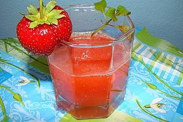 Erdbeerlimes-leicht und lecker