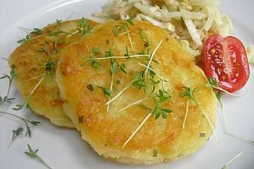 Kartoffelpüree-Plätzchen