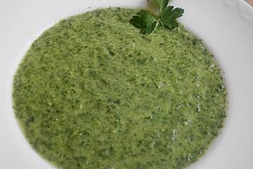 Fenchel-Spinat-Suppe