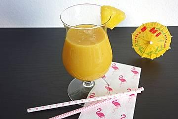 Smoothie à la Banane-Limette-Ananas