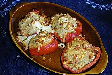 Gebackene Quinoa-Paprika
