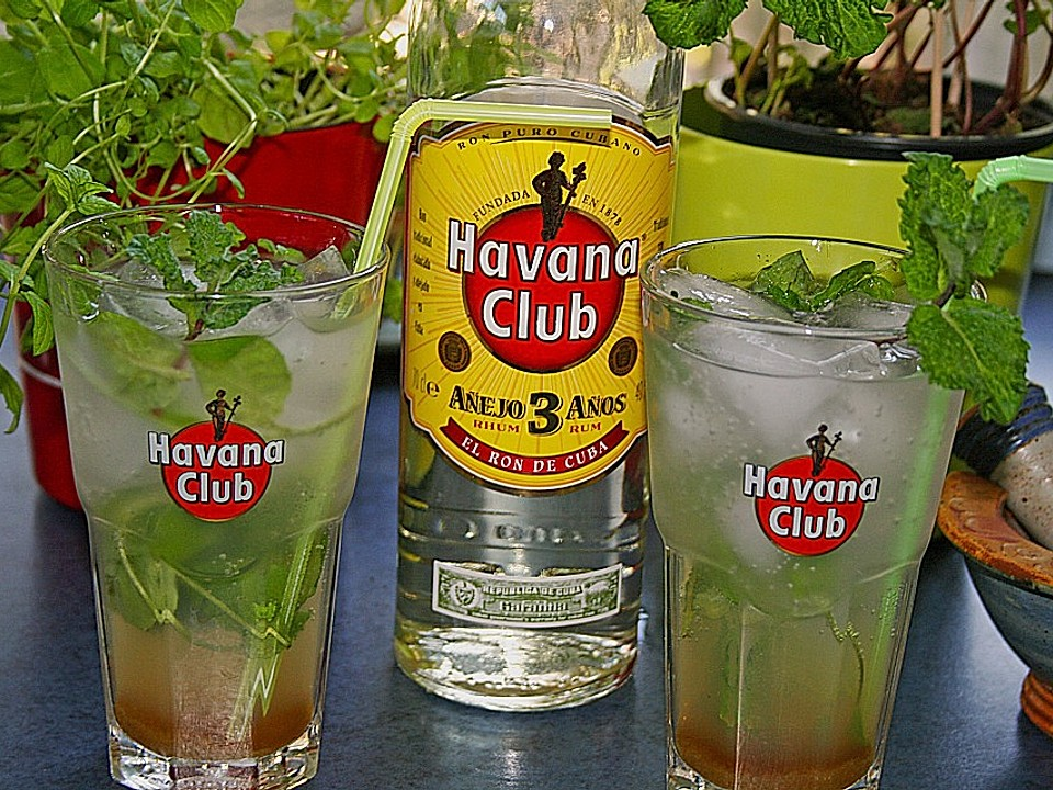 Club wie havana trinkt man Havana mischen