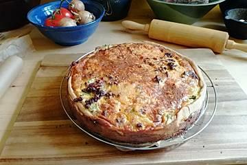 Porree-Torte