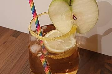 Apfelsaft-Drink