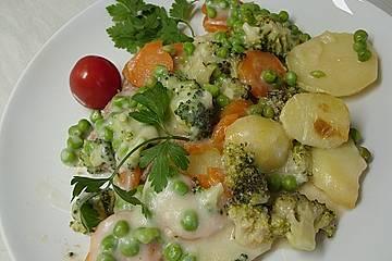 Gemüseauflauf mit Hackfleisch