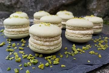 Pistazien-Macarons