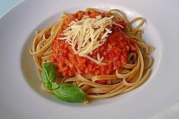 Karotten-Sellerie Bolognese
