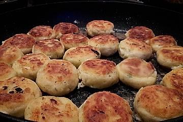 Feta Kartoffelküchlein