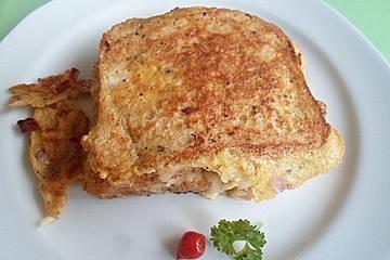 Schinken-Käse-Pofesen