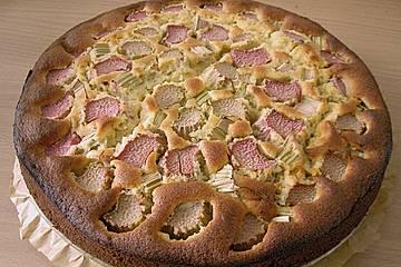 Rhabarberkuchen fructosearm