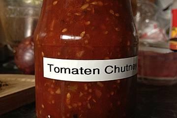 Tomatenchutney mit asiatischem Touch