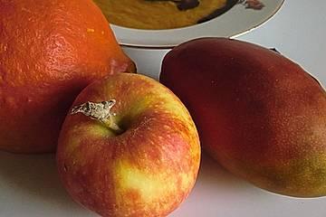 Kürbis trifft Apfel-Suppe