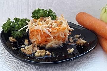 Karotten-Kohlrabisalat