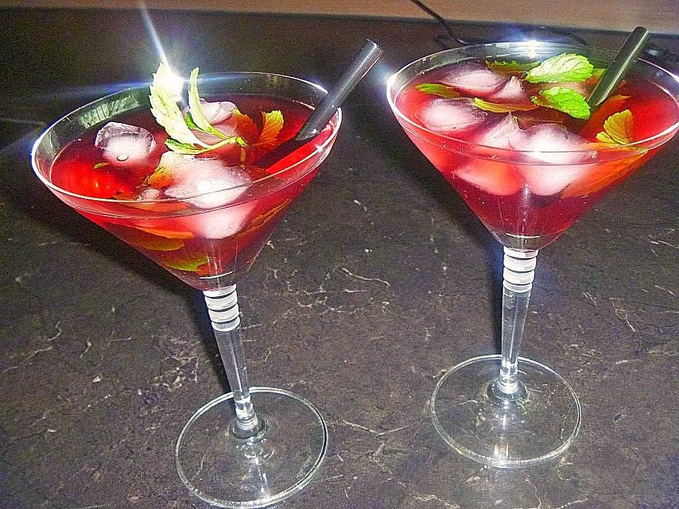Mit minze cocktails