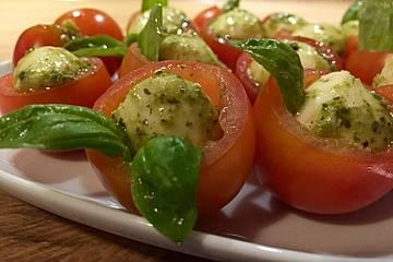 Tomate-Mozzarella mal anders