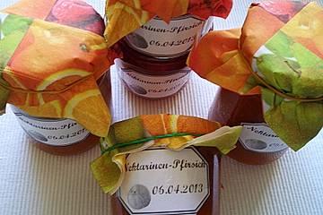 Pfirsich-Nektarinen-Marmelade