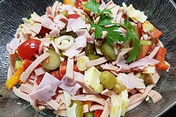 Saarlännischer Worschtsalat a la Mamma